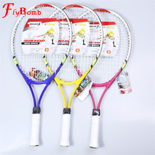 Flybomb Children Tennis Rackets Training Tenis Racquet Racket for Kids Youth with Racket Cover Bag for New Junior(China)