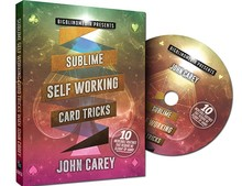 ITgimmick Sublime Self Working Card Tricks (Magic Package) by John Carey - Trick , free shipping to worldwide