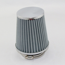 Universal Auto Vehicle Car Air Filter Air Intake Filter Cleaner 76mm Dual Funnel Adapter works 76mm Air Intakes