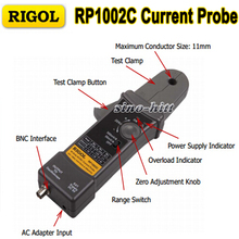 Original Rigol RP1002C Active and Current Probe For All Rigol Series Accessory DC to 1MHz Oscilloscope Scope Meter Probe
