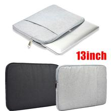 Portable Traveling 13 inch Carrying Bag Pouch Handbag Zipper For Tablet Notebook Laptop Durable Nylon Tablets case
