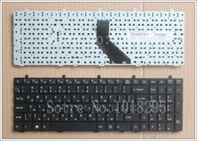 Russian RU Keyboard for DNS Clevo W350 W350ST W350SK W370 W370ST W670 W350SKQ MP-12A36SU-4301W 6-80-W37S0-281-1 keyboard