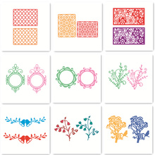 DIY Cutting Dies Stencil Embossing Card Scrapbooking Album Decoration Craft Metal Die Cutting Template Folder Suit Ornament