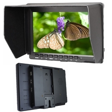 "NEW stock 7"" IPS  HD Monitor USB HDMI AV Input /output 1280*800 for DSLR Camera BMPCC ,with Sunshade FW759 for BMPCC BMCC"