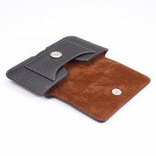 Horizontal Man Belt Clip Leather Mobile Phone Case Card Pouch For VKworld G1 Giant,Vernee Mars,Ulefone Vienna/Gemini Pro/Future(China)