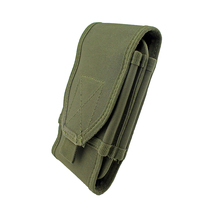 Molle Pouch Tactical Sports Dual Layer Cell Phone Holster Bag Running Bag Sport Accessories for All Moblie Phone(China)