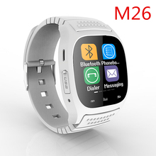 [genuine] M26 Bluetooth Wrist Smart Watch Pedometer Sleep Fitness Tracker Whatsapp Phone Call Sync Inteligent For iOS Android