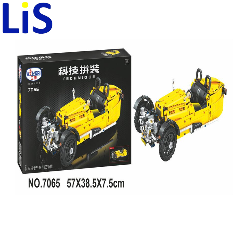 Lis 7065 Technic classic cars building bricks blocks toys for children Boy Game Bela Lepin<br>