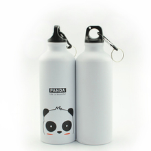 Hot Sale Portable Sports Bicycle Water bottleTop Cycling Camping Bicycle Aluminum Alloy kids Water bottle