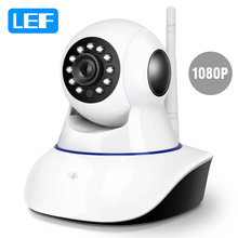 LEF 1080P HD Security IP Camera WiFi CCTV Video Surveillance Camera Pan/Tilt Two Way Audio Night Vision for Android/ IOS/PC