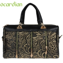 OCARDIAN 2017 Luxury leather handbags women Messenger Bag Tote Shoulder Bags Lace