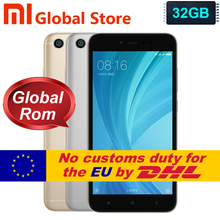 "Global Version Xiaomi Redmi Note 5A  32GB Smartphone  telephon Redmi  Note5A  3GB cellphone Snapdragon 435 5.5""  Fingerprint"