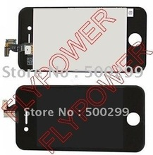 For iphone 4 4G lcd with touch digitizer+frame assembly by free UPS, DHL or EMS; 5pcs/lot