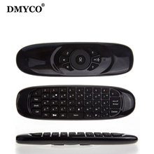 DMYCO C120 Fly Air Mouse Keyboard Wireless 2.4G TV Keyboard Remote Keyboard Controller for Android Linux Windows Mac OS TV BOX