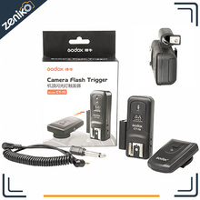 Godox CT-16 16 Channels Wireless Radio Flash Trigger Transmitter + Receiver Set for Canon Nikon Pentax Studio Flash