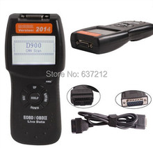 D900 OBD2 EOBD CAN Universal Auto Car Fault Code Scanner Diagnostic Scan Tool 2015.7 Version(China)