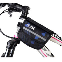 Roswheel Bicycle Mobile Phone Bag 5.0/5.7 Inch Touch Screen MTB Road Bike Top Frame Pannier Cycling Storage bicycle Bolsa 121049(China)