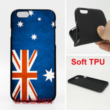 Australia flag Phone Case Soft TPU For iPhone 6 7 Plus SE 5S 4S Touch 6 For Samsung S8 Plus S7 S6 Edge S5 S4 2016 A3 A5 A3 J5