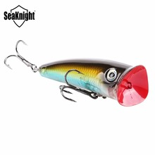 1 PCS SeaKnight SK004 Good Package 70mm 11g Topwater Artificial Fishing Bait Fishing Lures Poper Popper BKK Hooks Hard Lures
