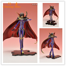 Free Shipping Anime Code Geass R2 Lelouch Lamperouge Zero 1/8 PVC Action Figure Collection Model Toy 24.5cm A152