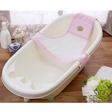 Buy Adjustable Baby Bathtubs Triangle Mesh Bath Tub Newborn Bath Net Safety Security Seat Support,Durable,Lightweight for $7.45 in AliExpress store