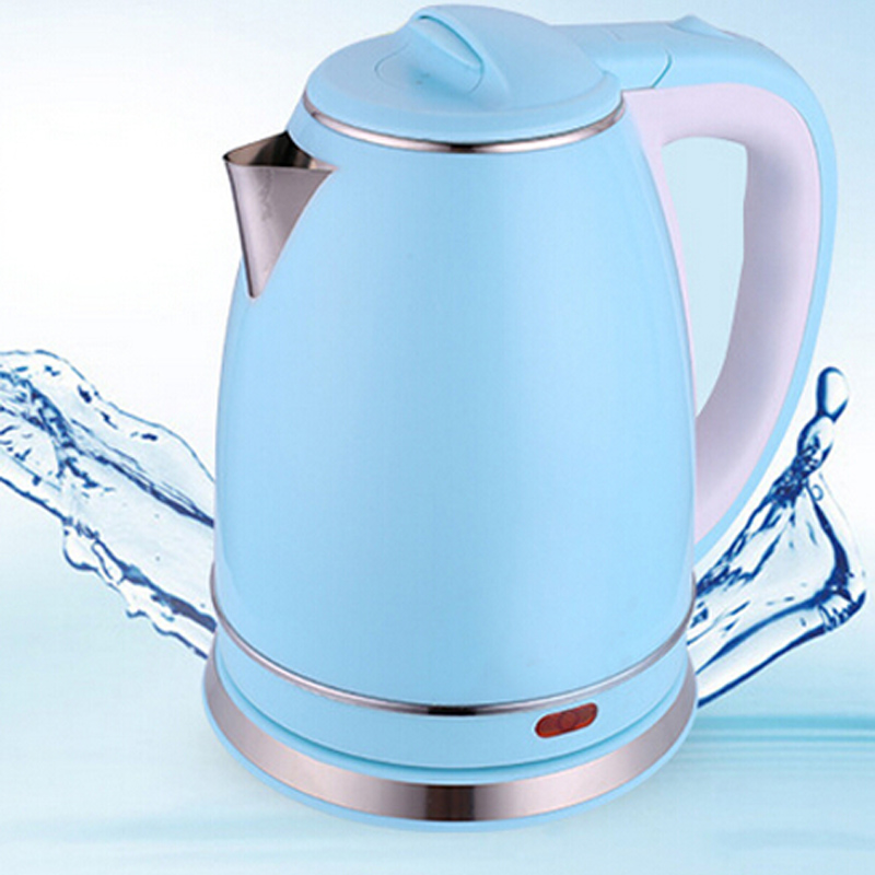 VOSOCO Electric kettle Heating water split style stainless steel liner quick heating Double layer scald proof 1.8L 1500W kettle<br>
