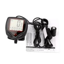 snowshine2 #2022 Waterproof Bicycle Bike Cycle LCD Display Digital Computer Speedometer Odometer