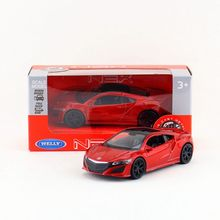Free Shipping/Welly /2016 Honda Acura NSX/Educational Model/Pull back Diecast Metal toy car/Gift/For collection