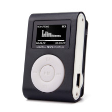 2017 USB LCD Screen Slim Mini Clip MP3 Music Player Support 32GB Micro SD TF Card electronica #MA24