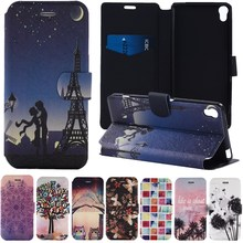 Buy Luxury PU Leather Case Coque Sony Xperia XA Case 5.0 Inch Stand Wallet Card Slot Flip Cover Fundas Sony XA Case Capa for $4.99 in AliExpress store