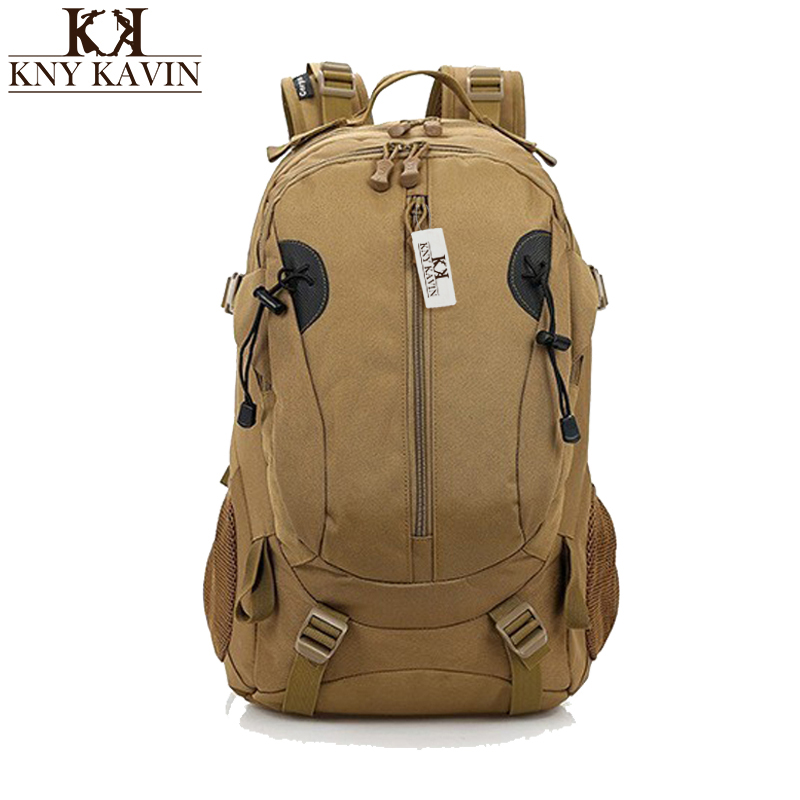 2017 Hot Sale Men Women Unisex Military Backpack Canvas Bag Trekking Waterproof Rucksacks 40L Backpacks Men Backpacks<br>