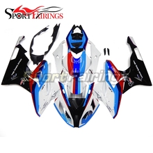 Gloss Blue Pearl White Complete Body Kits For BMW S1000RR 15 16 2015 2016 Injection ABS Fairings Motorcycle Fairing Kit Covers(China)