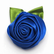Hand Made DIY Decorative Wedding Bouquet Boutonniere Wrist Stain Ribbon Silk Articifial Flowers Corsage Material Decoration