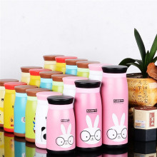 Cute Cartoon Thermos CupThermo Mug Vacuum Cup Stainless Steel Bottle Thermal Thermos Bottle Insulated Tumbler Travel Thermocup