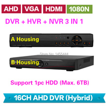 Buy Lihmsek Mini 16 Channels CCTV DVR NVR HVR 3 IN 1 AHD DVR Recorder 16CH Security Equipment, Optional 2 Housings, Free for $109.01 in AliExpress store