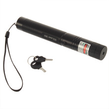 1 pcs Powerful SD Laser303 Adjustable Focus 532nm Green Laser Pointer Light Output power less than 1mw no battery(China)