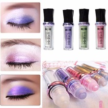 Women Beauty Popular 11 Colors Single Roller Color Eyeshadow Glitter Pigment Loose Powder Shimmer Eye Shadow Makeup