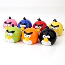 Portable MP3 Player TF Card Slot electronic products Cute colorful bird MP3 music (MP3 only) you can use a USB flash drive(China)