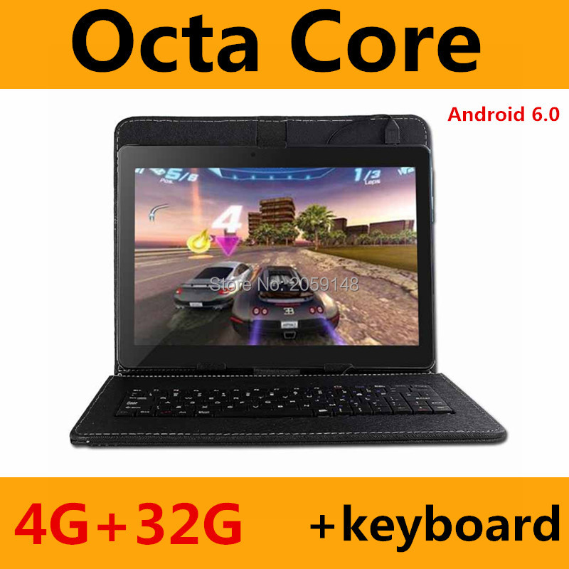 Hot New Tablets Android 6.0 Octa Core 4G+32GB ROM Dual Camera and Dual SIM Tablet PC Support OTG WIFI GPS 3G 4G bluetooth phone(China (Mainland))