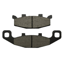 Motorcycle Brake Parts Brake Pads For KAWASAKI ZZR400 ZZR 400 ZX400 ZX 400 K1/K2/K3 1990-1992 Rear Motor Brake Disks #FA129