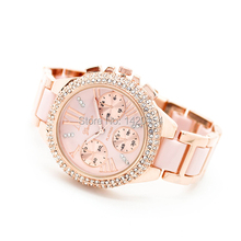 High Quality New Vintage Stylish Ladies Geneva Quartz Watches at Cheap Price