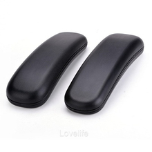 "Office Chair Parts Arm Pad Armrest Replacement 9.75"" x 3"" (Black)(China)"