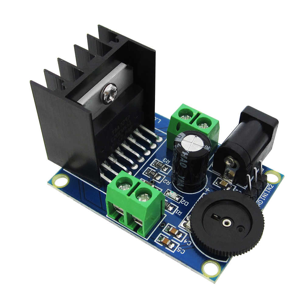 Detail Feedback Questions About 1pcs Tda2030a Module Single Power Tda2030av Integrated Circuit Audio Amplifier Dc 6v To 18v Tda7297 Double Dual 2 Channel 2ch Board 10
