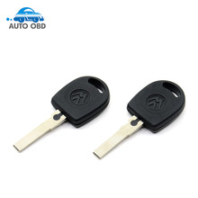 10pieces/lot new arrive Blank Shell For Volkswagen (for VW) B5 Passat Transponder Key (HU66) + with logo Free Shipping