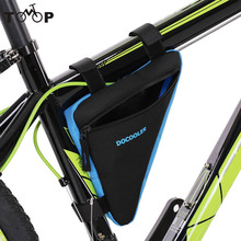 Triangle Cycling Bicycle Bags Bike Front Saddle Tube Frame Pouch Bag Holder Outdoor Bag Bicycle Accessories 4 Colors