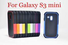 Hybrid 2 in 1 Combo Impact Armor Silicone&Plastic Football Hard Case Cover For Samsung Galaxy S3 mini i8190