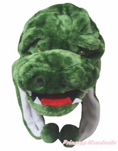 Green Crocodile Hat Animal Dress Children Costume Free Size(Hong Kong)