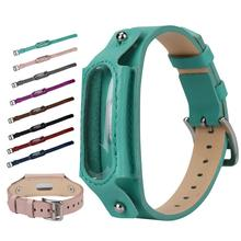 Buy HIPERDEAL Replacement Leather Wristband Band Strap Xiaomi Mi Band 2 Bracelet for $5.86 in AliExpress store