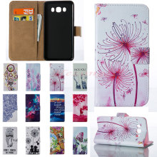 1pc Leather Flip Cover Wallet Case for Samsung Galaxy J1 2016/Galaxy J5 2016 Wallet Card Holder Smartphone Mobile Phone Case A03
