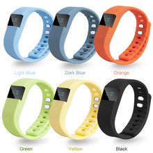 Rubber Silicone Smart Wrist Band Fashion Casual Activity Tracker Pedometer Sleep Sports Fitness Bracelet Watches